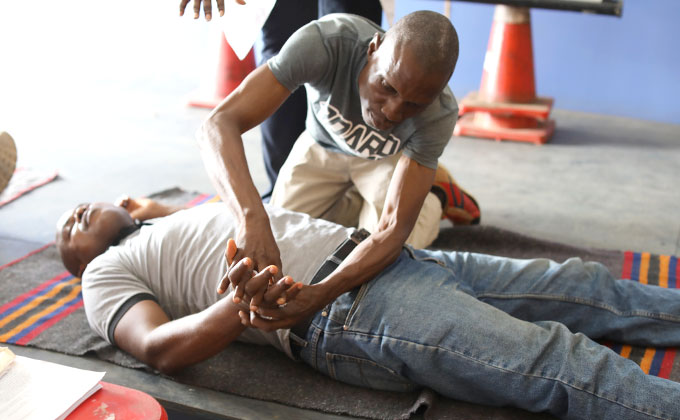 Basic Emergency Response Training Lagos Nigeria