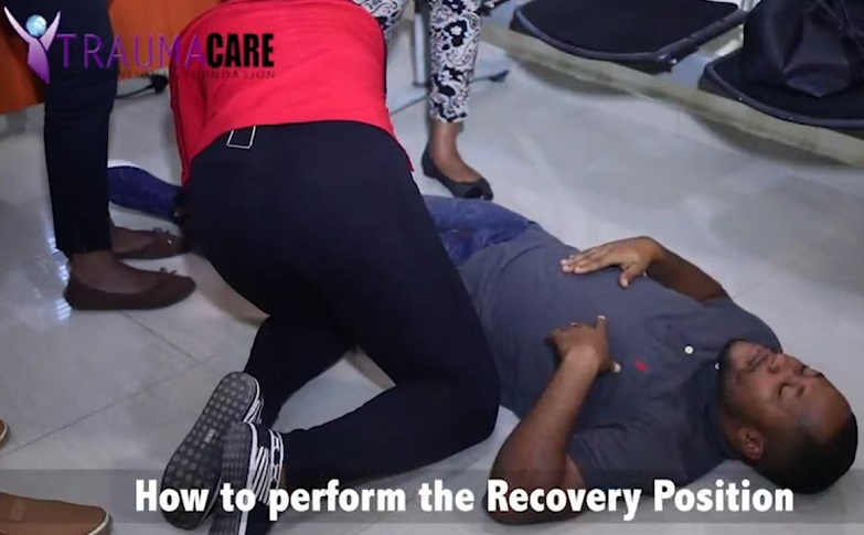 Administering Cardiopulmonary resuscitation (CPR)