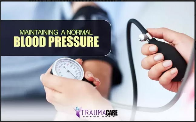 MAINTAINING A NORMAL BLOOD PRESSURE