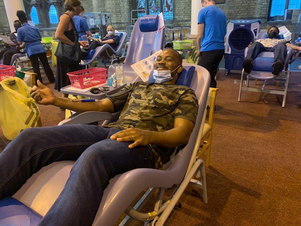 BLOOD DONATION UK