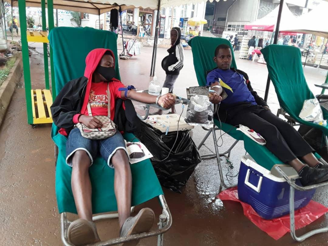 Blood Donation Vulu, Uganda