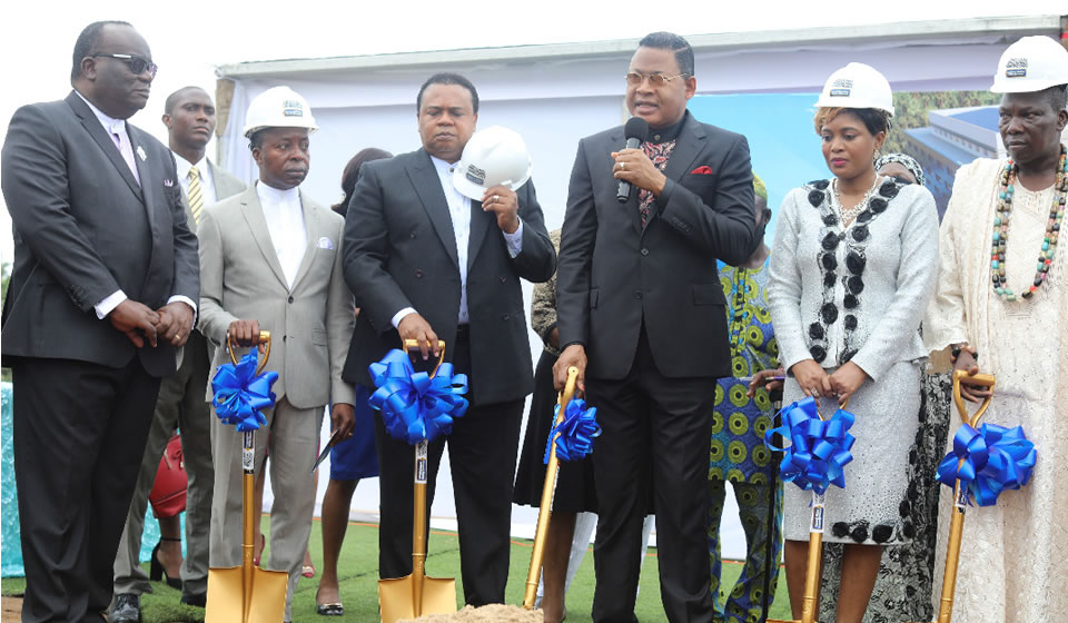 Loveworld Medical Centre Groundbreaking Ceremony