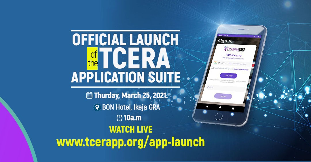Trauma Care International launches TCERA emergency Application Suite