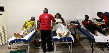 Voluntary Blood Donation Drive in Nasarawa State, Nigeria