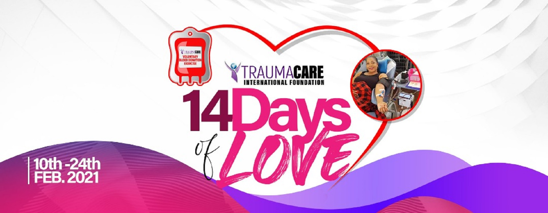 14 Days Blood Donation Campaign