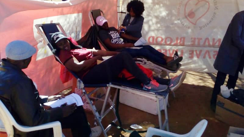 Voluntary Blood Donation Drive in Botswana