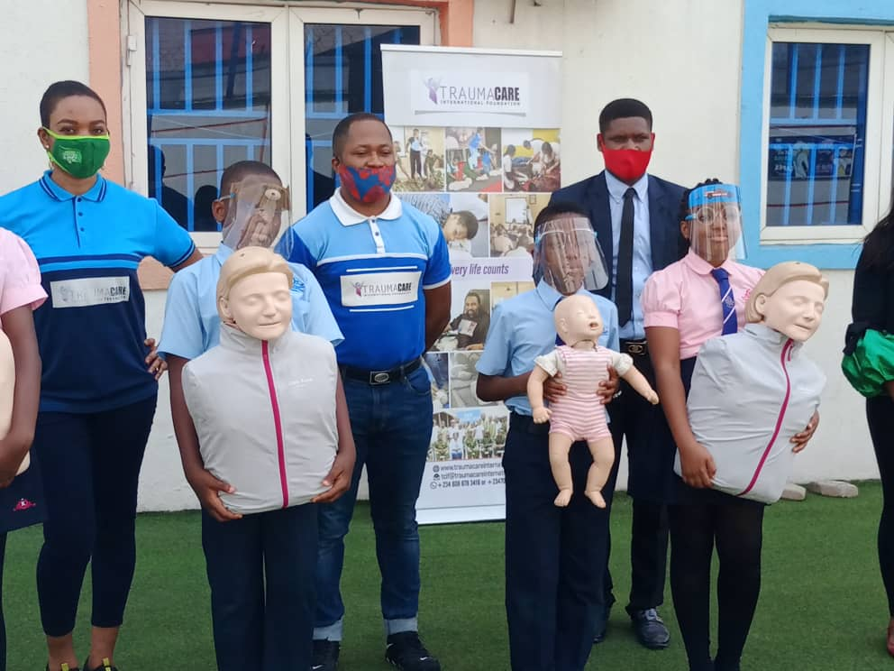 Child Safety and Awareness training at Charis group of schools, Nigeria