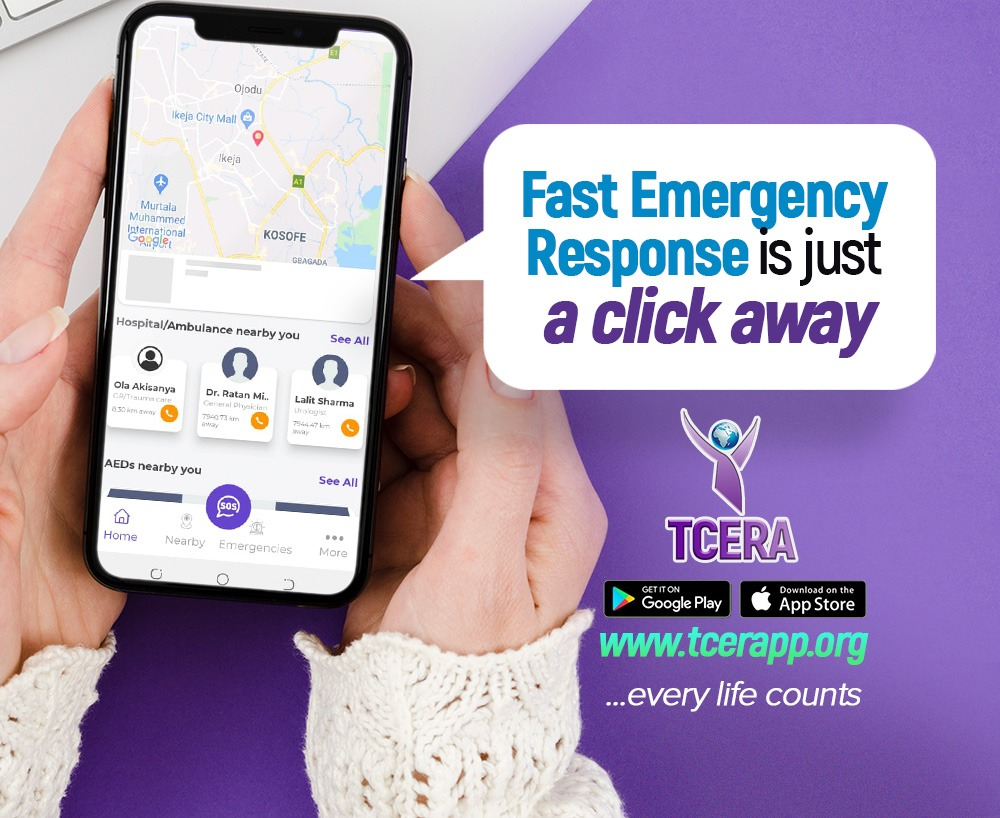 LAUNCHING THE TCERA EMERGENCY APP