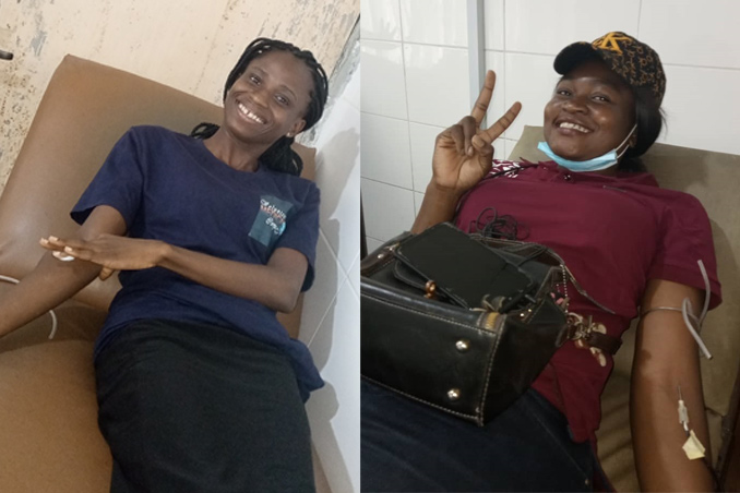 VOLUNTARY BLOOD DONATION PROMOTES ACCESS TO SAFE BLOOD