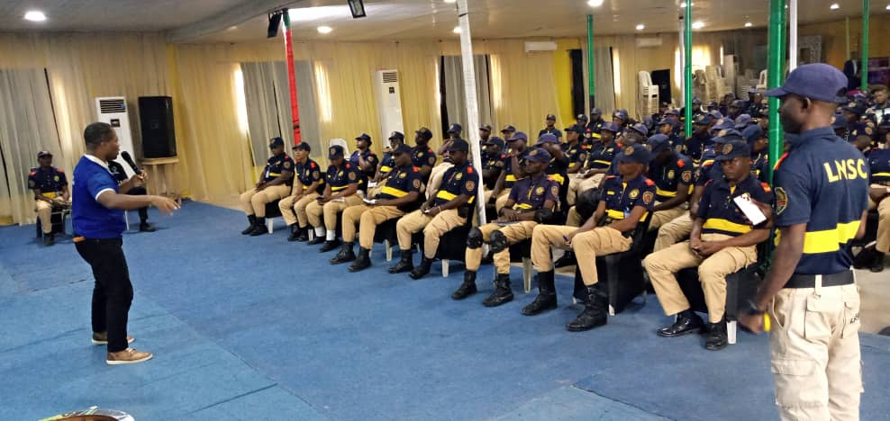 TCIF trains members of the Lagos State Neighbourhood Safety Agency